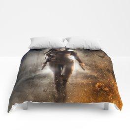 Queen Bitch Comforters