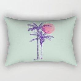 noche tropical Rectangular Pillow