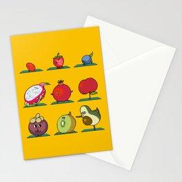 Super Fruits Yoga Stationery Cards