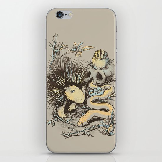 Haunters of the Waterless iPhone & iPod Skin