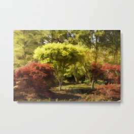 A Walk In The Woods Painting Metal Print