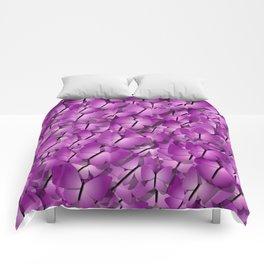 pink magenta butterflies Comforters
