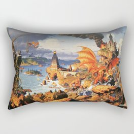Ultima Online poster Rectangular Pillow