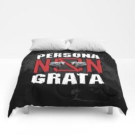 Persona Non Grata Comforters