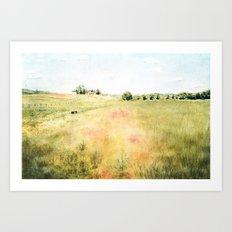 A Walk With Greta Art Print