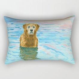 Gus's River Rectangular Pillow