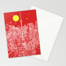 Toronto! Red (Version #2) Stationery Cards
