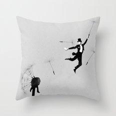 Au revoir Throw Pillow