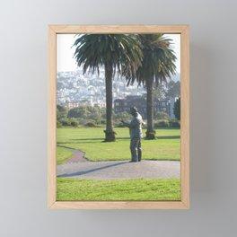 Congressman Phillip Burton Framed Mini Art Print