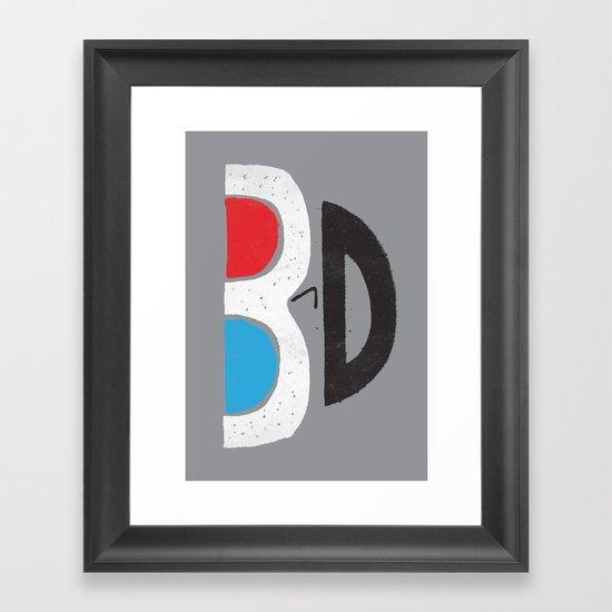 I Like It 3D Framed Art Print