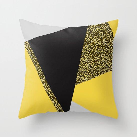 Minimal Complexity v.3 Throw Pillow