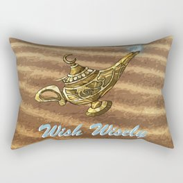 Magic Genie Lamp Rectangular Pillow