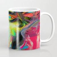 archan nair Mugs featuring Rainscape Rhythm by Archan Nair
