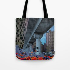 the built environment Tote Bag