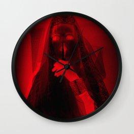 Bloody Bride Wall Clock