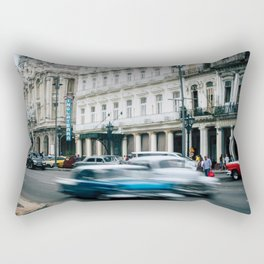 Speeding Through Time Rectangular Pillow