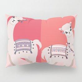 Llama and Alpaca with love Pillow Sham