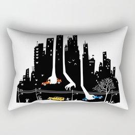 Beware Of Those Hands Rectangular Pillow