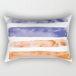 Waves of Summer   Stormy Sunset Skies Rectangular Pillow