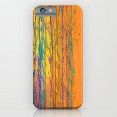 orange forest iPhone 6s Slim Case