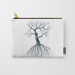 Tree without leaves Carry-All Pouch