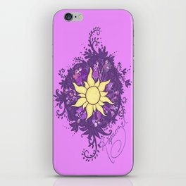 Tangled: Rapunzel's Kingdom Dance Chalk Drawing iPhone Skin