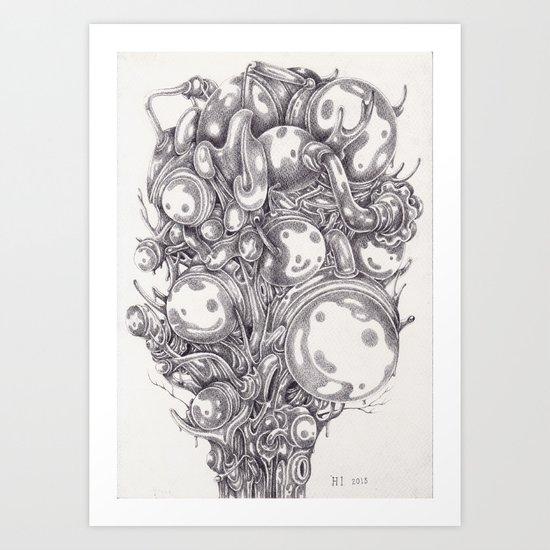 Heliotrope Art Print