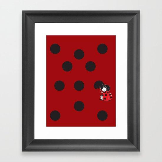 My Favorite Pattern Framed Art Print