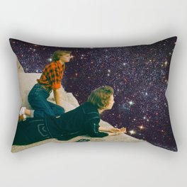 Space Girls Rectangular Pillow