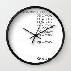 COPY Wall Clock