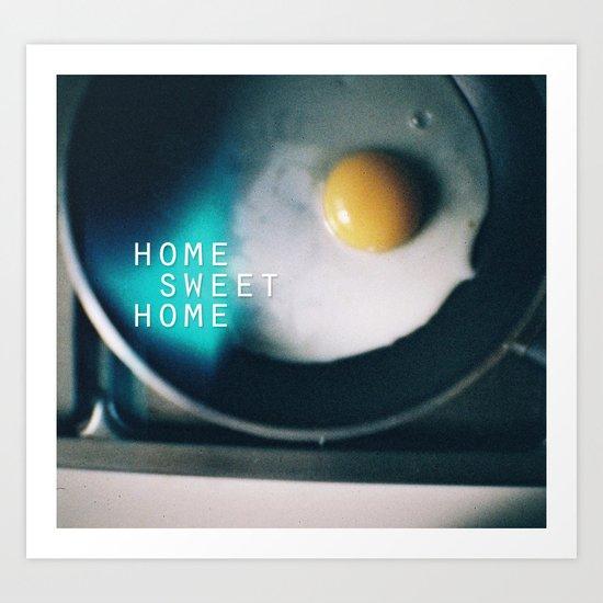 HOME SWEET HOME SERIES Art Print