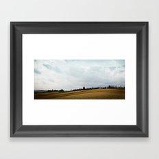 Tuscan Hills Framed Art Print
