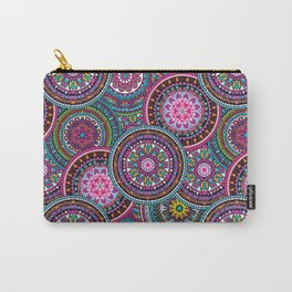 Bright Bohemian Boho Hippy Chic Pattern Carry-All Pouch