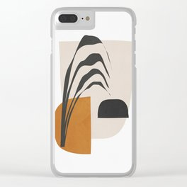 Abstract Shapes 3 Clear iPhone Case