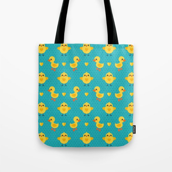 CHICKS AND DUCKLINGS Tote Bag