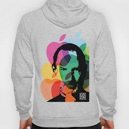 Lab No. 4 - Steve Jobs Inspirational Typography Print Poster Hoody