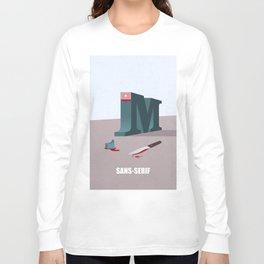 Sans-Serif Long Sleeve T-shirt