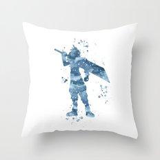 Cloud Final Fantasy  Throw Pillow