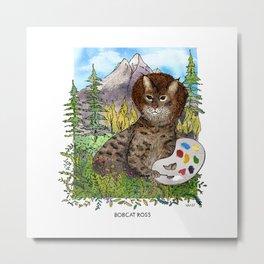Bobcat Ross Metal Print