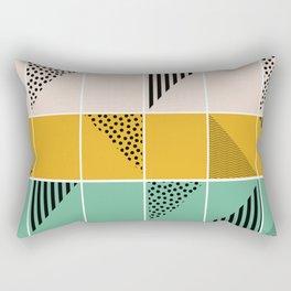 Blossom mosaic Rectangular Pillow