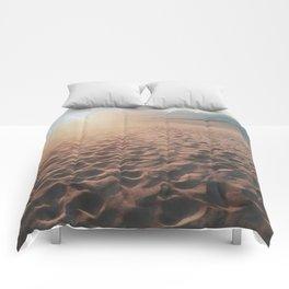 Desert Footprints Comforters