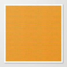 U14: sunset chevron Canvas Print