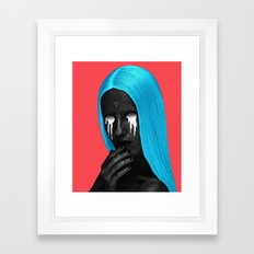 small upside down triangle Framed Art Print