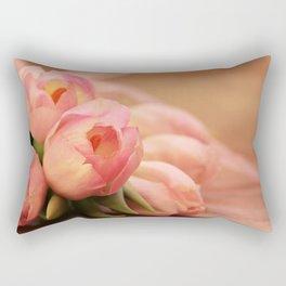 Tulips Tulipa Flowers Rectangular Pillow