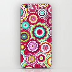 Bright Flower Dash iPhone & iPod Skin