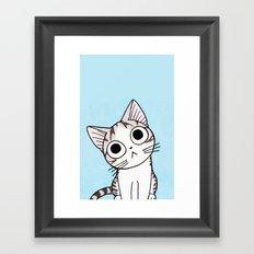 Robby cat Framed Art Print
