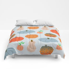 Pumpkin patch delight Comforters