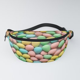 Mini Egg Milk Chocolate Easter Candy Pattern Fanny Pack
