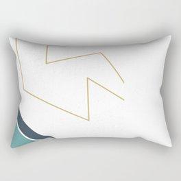 THE GOLD LINE Rectangular Pillow