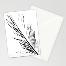 Peacock Feather 4 Stationery Cards